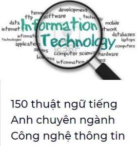 150 thuật ngữ tiếng Anh cho dân IT