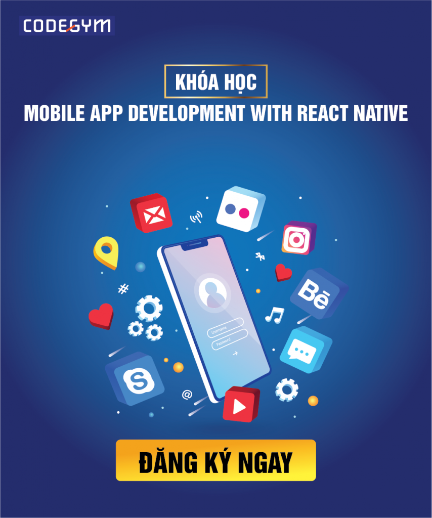 mobile app development with react native